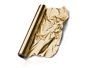 Αλουμινόχαρτο Χρυσό