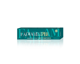 Box for hair color cream Fadiam
