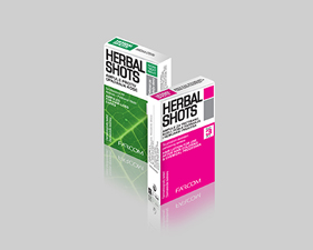 Boxes for ampoules Herbal Shots