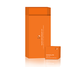 Advertising packaging Orange Adv