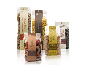 Pasta paper ribbons-packaging